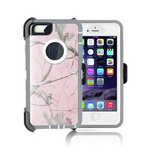 Accessories - Impact Case for Iphone 7/8 Plus Pink Tree Camo